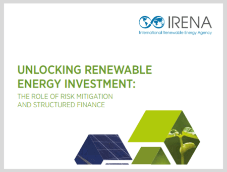 Unlocking Renewable Energy Investment: The role of risk mitigation and structured finance