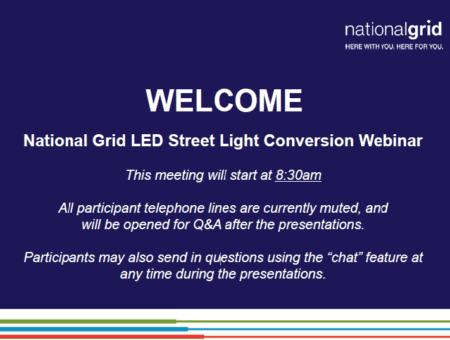 National Grid LED Street Light Conversion