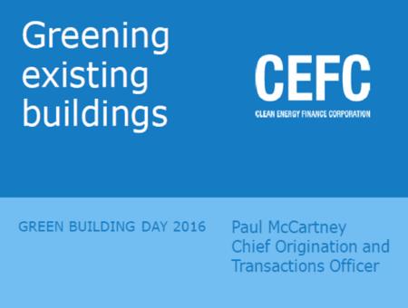 CEFC Greening Existing Buildings