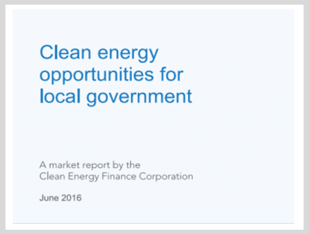 Clean Energy Opportunities for Local Governments