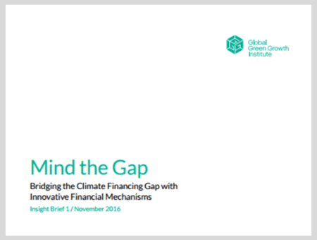 Mind the Gap: Bridging the Climate Financing Gap with Innovative Financial Mechanisms
