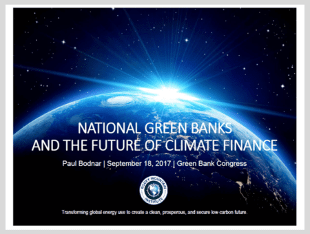 National Green Banks and the Future of Climate Finance