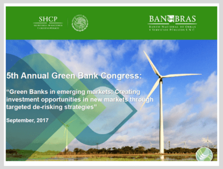 Green Banks in emerging markets: Creating investment opportunities in new markets through targeted de-risking strategies