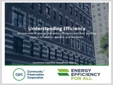 Understanding efficiency in multifamily housing: Positive impacts on lenders, owners, and residents