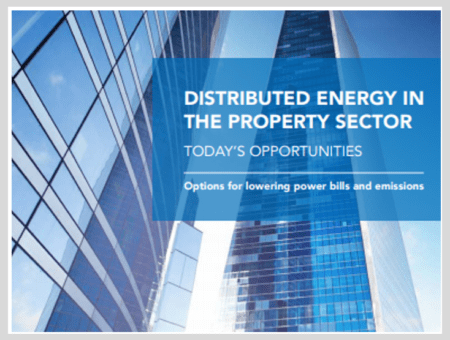 Distributed energy in the property sector – today's opportunities