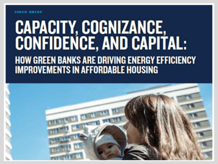 Capacity, Cognizance, Confidence, and Capital: How Green Banks Are Driving Energy Efficiency Improvements in Affordable Housing
