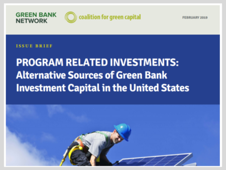 Program Related Investments: Alternative Sources of Green Bank Investment Capital in the United States
