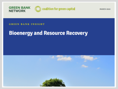 Bioenergy and Resource Recovery