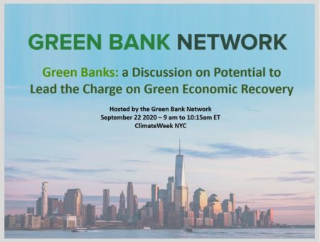 Green Banks and Economic Recovery